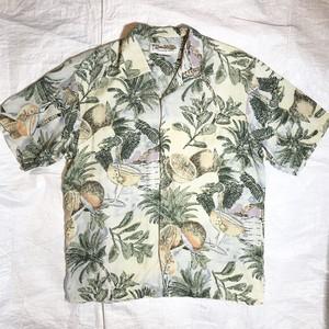 【Honolulu Lulu】アロハシャツ SILK100%