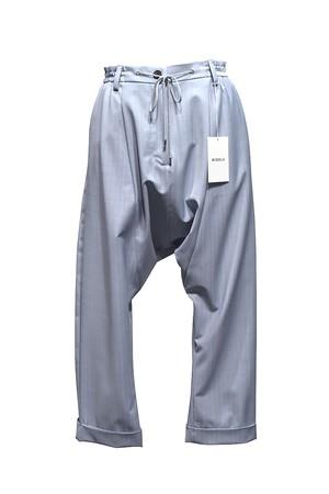MIDDLA / TROP SARROUEL PANTS / Saxe