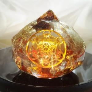 宝珠オルゴナイト(龍とメタトロン)