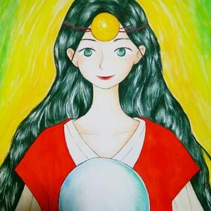 【イラストオーダー】あなたの女神