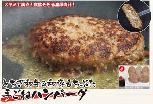 7個入 150g手ごねハンバーグ とちぎ和牛x和豚もちぶた【大山総本店】