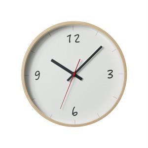 KATOMOKU plywood wall clock 6 km-52N