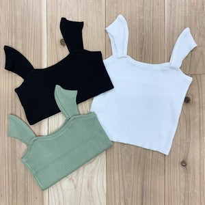 square neck rib camisole