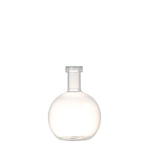 【K555-384B】Turtleneck vase B #フラワーベース #ガラス #モダン #シンプル