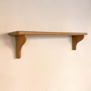 Vintage Oakwood Display Wall Shelf オランダ / Medium