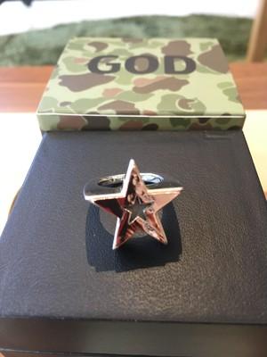EFFECTEN star pinky ring