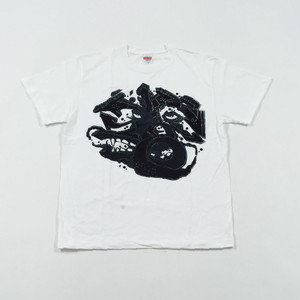 FACE T-Shirt - B White × Black