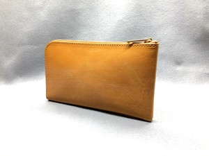 SHOZO wallet (bridle leather): Camel