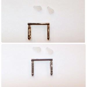 ブローチを帯留めにする用の金具(小)