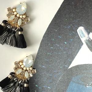 【Huld Girl】フラガール ブラック&ホワイト