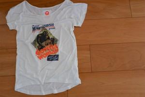【MONKKE】w's gorilla Tシャツ