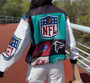 【SELECT】NFLナイロンブルゾン