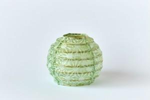 ちび丸提灯製作キット(麻色/Green)