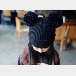 【即納商品】ねずみニット帽