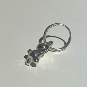 うさぎ earring hoop silver925