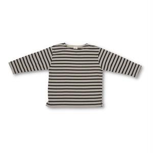 RIO GIRLS ボーダーボートネックTシャツ