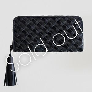TOKYO BLACK / メッシュ・タッセル長財布