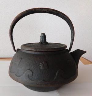 昭和レトロな鉄瓶