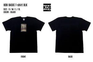 KOB BASIC T-shirt BLK