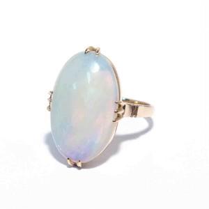 Vintage Japanese Ring - K18 Opal #11