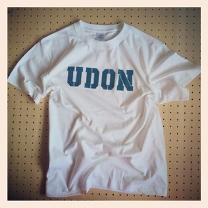 FATCollege  UDON Rial Stencil S/S TEE