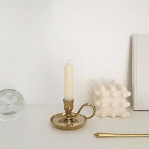 lily candle holder / リリー  テーパー キャンドル ホルダー オブジェ ゴールド ブラス 韓国 北欧 雑貨