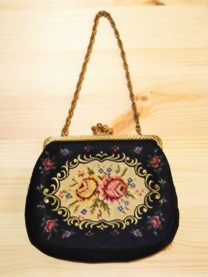 Embroidery mini bag [B-371]
