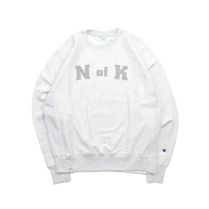 Means RW Crew Neck Sweat / S.GREY