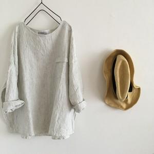 relax pullover   キナリストライプ