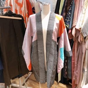 B42 羽織り ~カラフル、グレー、衣装、着物