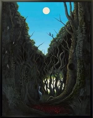 蒼鷺が歩む森(あおさぎがあゆむもり)