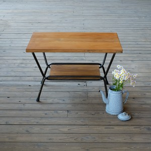 TEAK IRON TABLE《アイアンコーヒーテーブル》 ASL-3182
