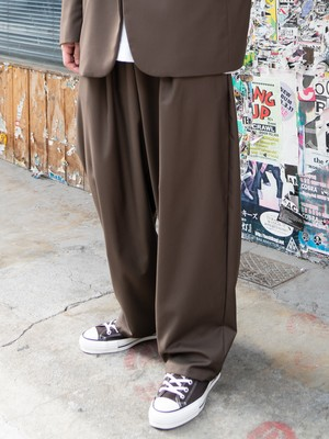 【MENS - 1 size】RUBY EASY TROUSERS / 2colors