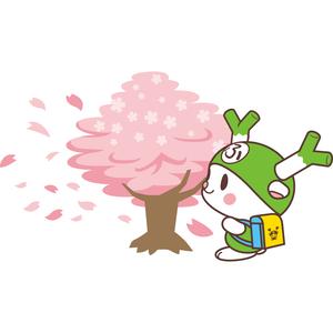フィルター・ストッパー付き ふっかちゃんマスク / 048【桜吹雪】