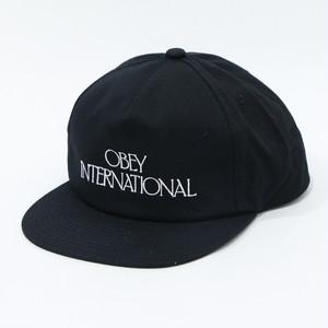 【OBEY】 PLAYERS CLUB SNAPBACK (BLACK)