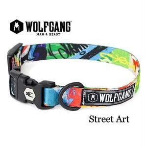 WOLFGANG  Lサイズ  StreetArt   首輪 (ウルフギャング ストリートアート)