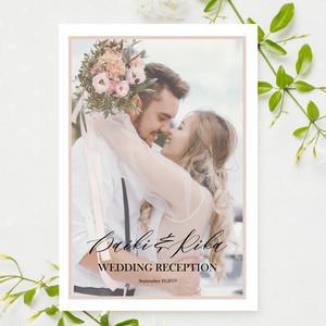 PB27【サンプル】結婚式プロフィールブック