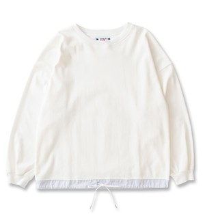 【SON OF THE CHEESE】draw code LS tee(WHITE)