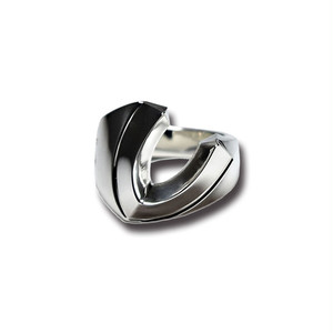 【送料無料】Gradient horse Shoe Ring SV by Sorpresa Collection【品番 17A2003】