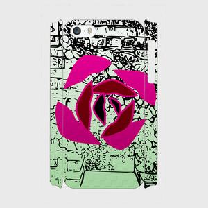 iPhone5/5s/SE用ケースRose 側表面印刷スマホケース