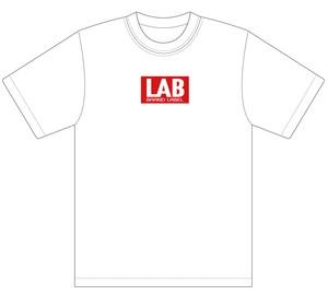 LAB BOXロゴTシャツ ホワイト XL