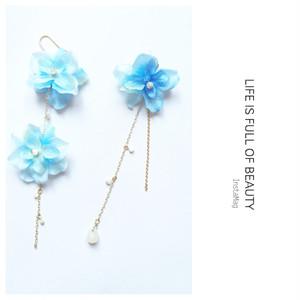 N254お花●ピアス●イヤリング●天然石