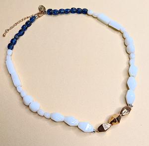 Glass bead necklace | MIHO meets RUKUS x People Tree