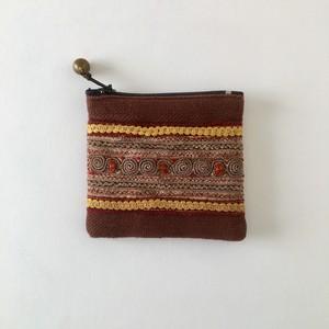 モン族の刺繍のコインケース② Hmong Embroidery Coin Purse