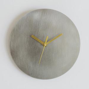 minimal clock <disk> / stainless