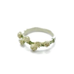 【リング】花かんむり『シロツメクサのリング』