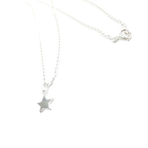 ネックレス シルバー925 スター 星型