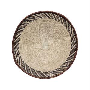 トンガ族の平かご S 18  / Tonga Flat Basket S 18