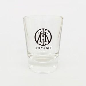 MIYAKO Main Logo shot glass