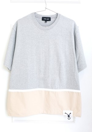 【UNISEX】By Color Knit Tee